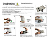 Dead Zone Bags Instructions™
