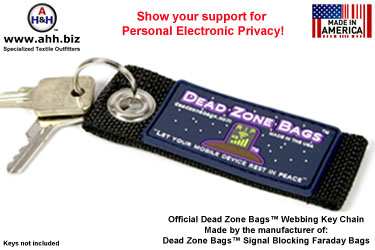 Official Dead Zone Bags™ Limited Edition Promotional Key Chain